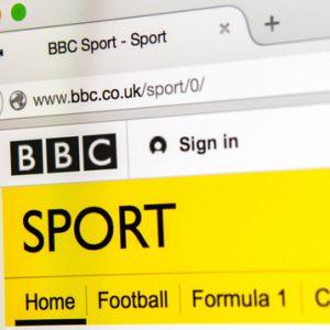 BBCのスポーツページで遭遇した金髪の日本人とは・・・!